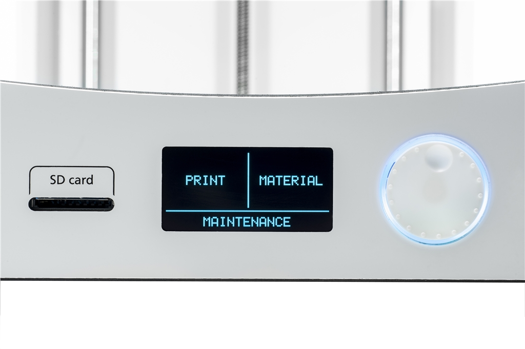 Ultimaker 3D印表機 面板