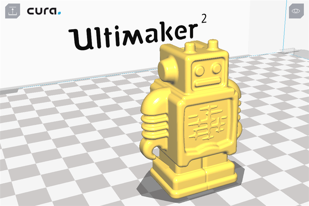 Ultimaker 2 3D印表機 cura15.06 切片軟體 檢視模式