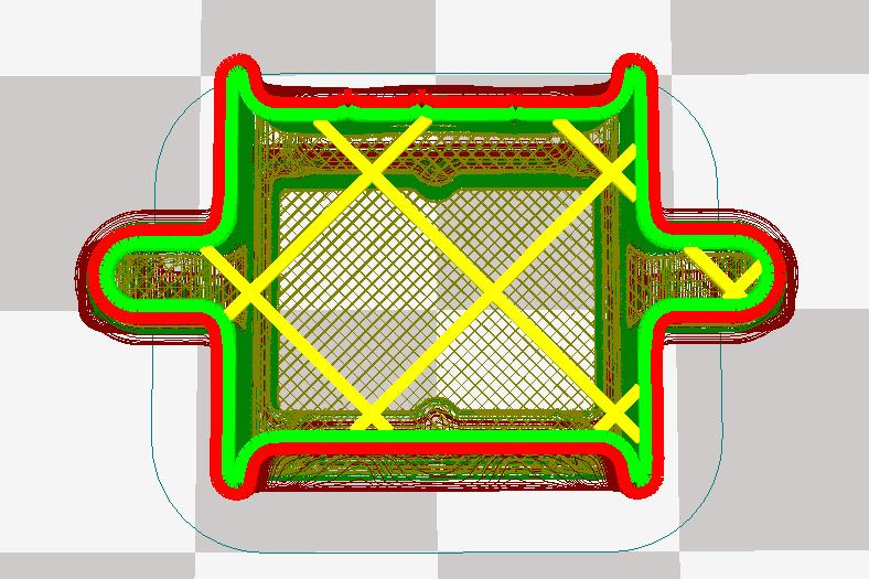 Ultimaker 2 3D印表機 cura15.06 切片軟體 切片模式