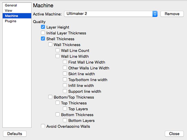 Ultimaker 3D印表機 Cura 切片軟體 中文教學 介面配置