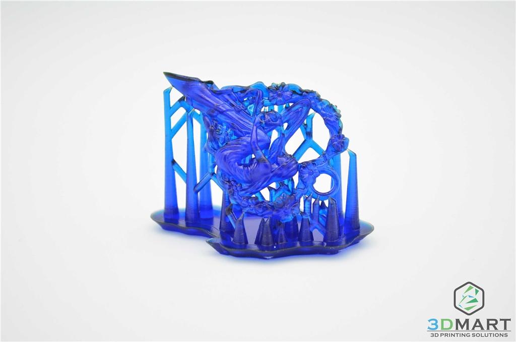 Formlabs Form2 SLA 光固化 3D列印機 Castable 鑄造樹脂 3DMART 心型少女吊墜