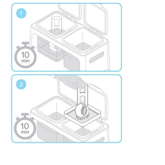 Formlabs - Form2 SLA 光固化3D列印機 3DMART 清理物件