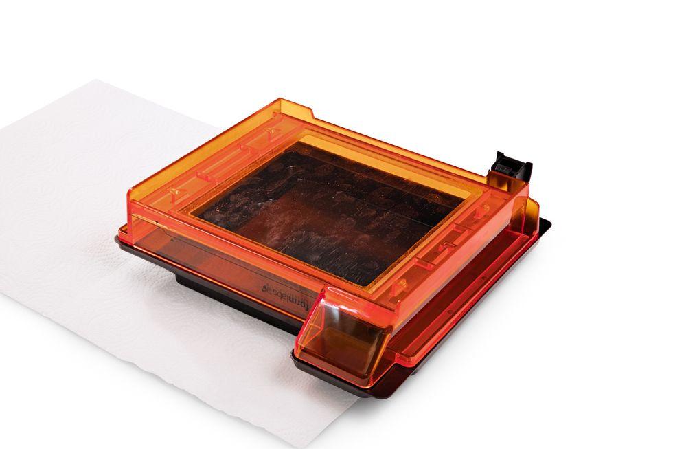 Form2 SLA 3D列印機 樹脂槽清潔 外觀檢查