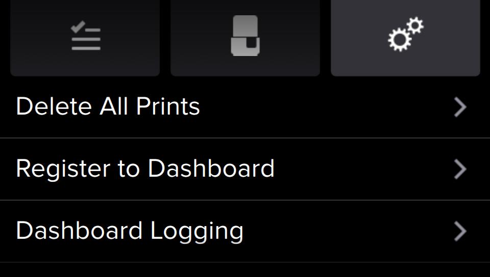 Formlabs - Form2 SLA 光固化3D列印機 3DMART 登錄dashboard
