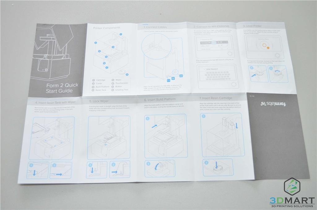 Formlabs SLA 3D列印機 Form 2 台灣 開箱文章 組裝說明 3DMART