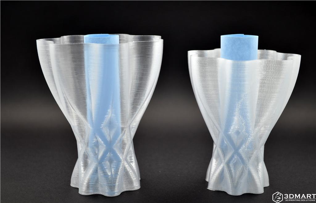 ultimaker 2  3D printer   FDM FFF 3D列印機 3D印表機   3D列印  Taulman3D  pet  透明  t-glase  透明度比較  壁厚  層厚  噴嘴口徑