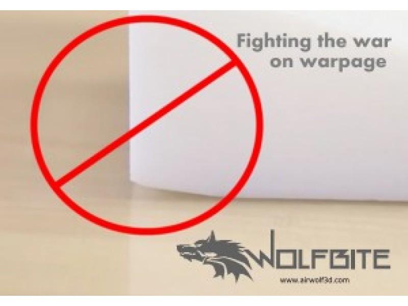 3D列印 解決翹曲 ABS Wolfbite