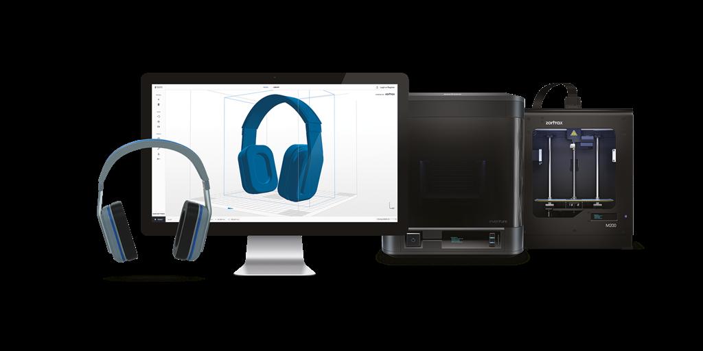 Zortrax M200 3D印表機 一體化的統合系統 台灣官方代理 3DMART