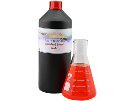 FunToDo Standard Blend Red resin bottle