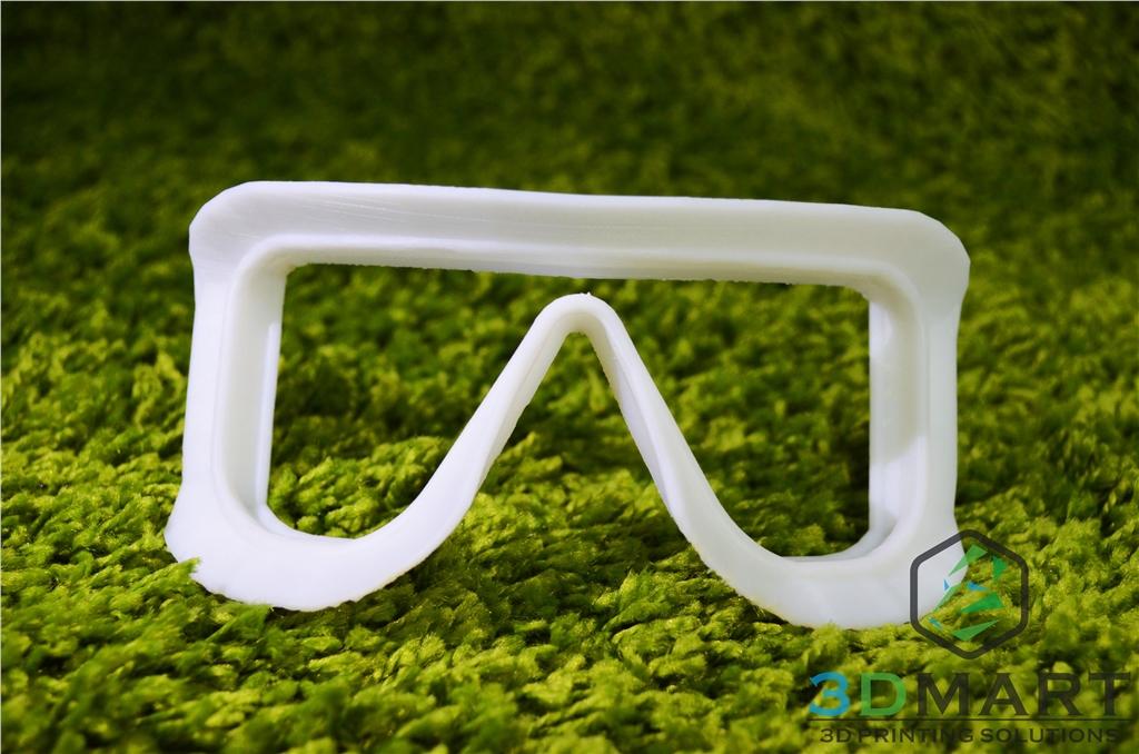 Ultimaker 3D印表機 3D列印 Ski goggles 滑雪鏡 成品