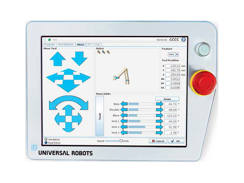 UR3 Robotic Arms Software