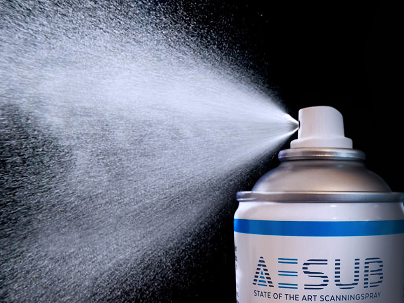 AESUB Sublimating 3D Scanning Powder Blue