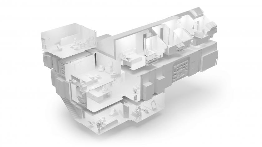 Matterport Pro2 3D Scanner dollhouse