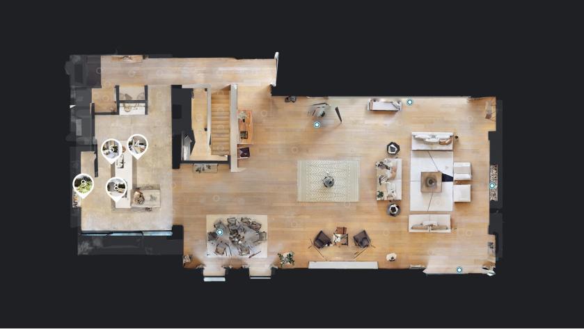 Matterport Pro2 3D Scanner floorplan