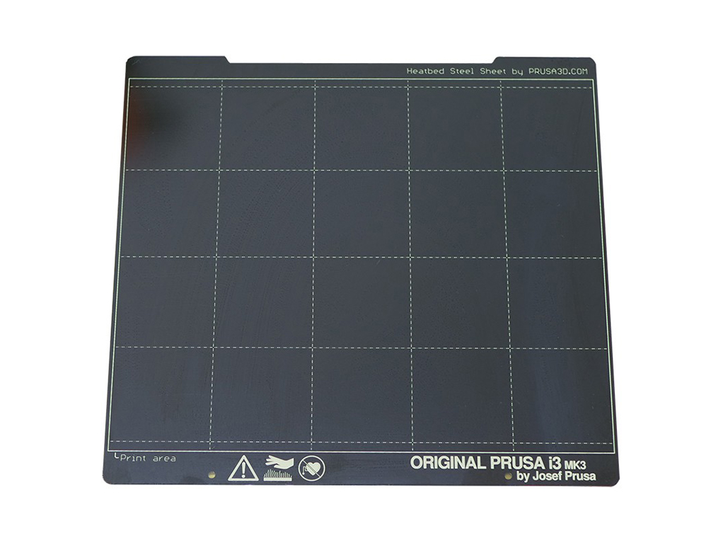 Original Prusa i3 MK3S+ 3D Printer heat bed