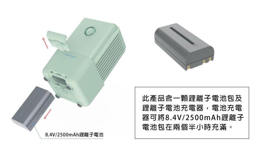Green Sterilizer XTB-360 battery