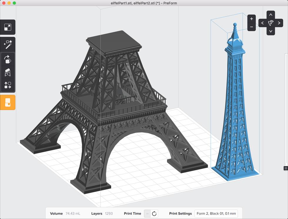 formlabs form2 preform切片軟體教學 列印體積