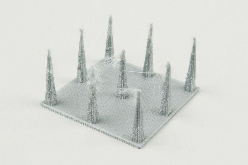 3D印表機抽絲, Stringing temperature, 解決抽絲