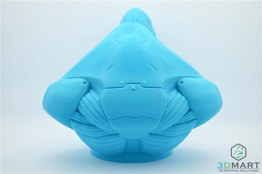 Ultimaker 3D列印機 Esun PLA+材料 Poachers Cortex 背面