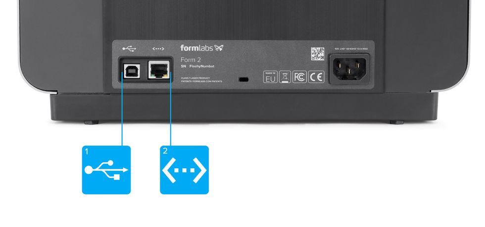 Formlabs - Form2 SLA 光固化3D列印機 3DMART 連結電腦