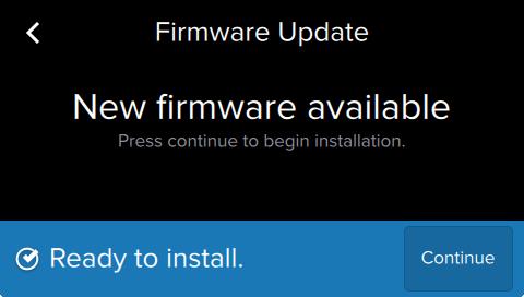 Form2 SLA 3D列印機 執行韌體升級 更新韌體 完成更新