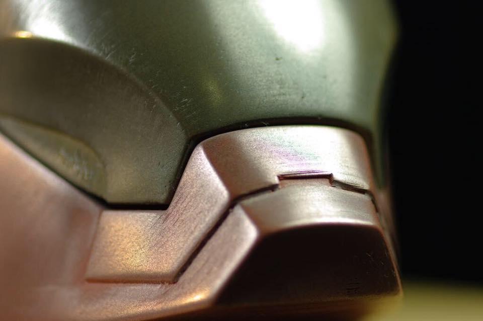 Colrfabb bronzefill copperfill 3DMART 鋼鐵人 拋光