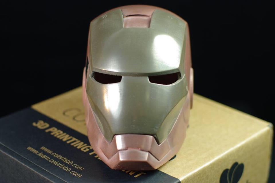 Colrfabb bronzefill copperfill 3DMART 鋼鐵人成品