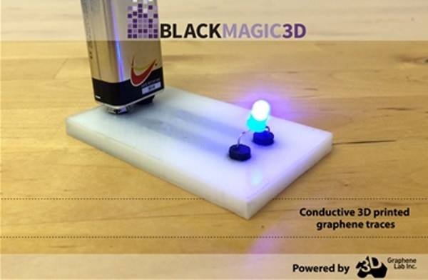 導電3D列印材料 BlackMagic - Conductive Graphene PLA - 應用