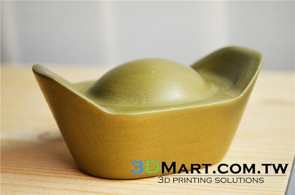 3D列印材料 金屬3D列印耗材後處理 - 黃銅 colorfabb