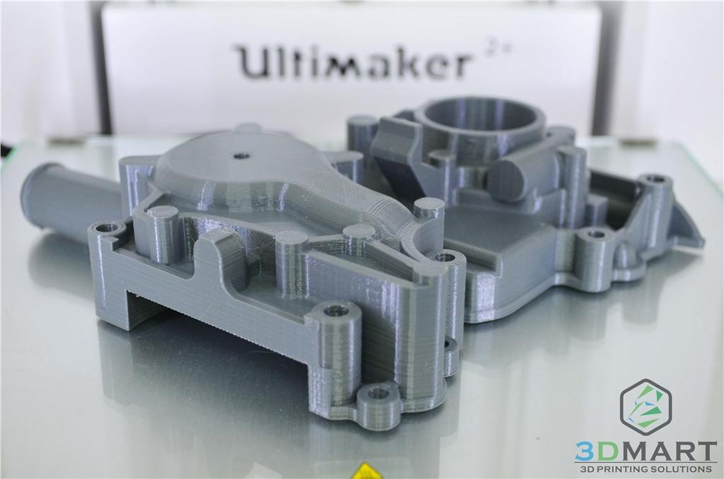 Ultimaker2+ 3D列印 Colorfabb nGEN 引擎座與正時蓋