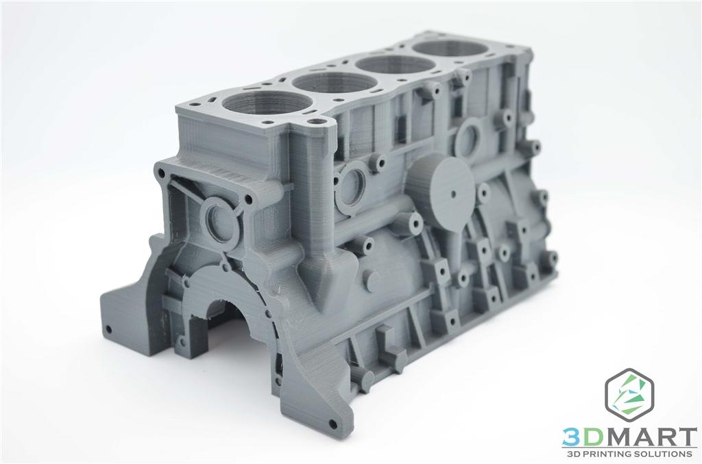 3D列印 Colorfabb nGEN 引擎座 近照2