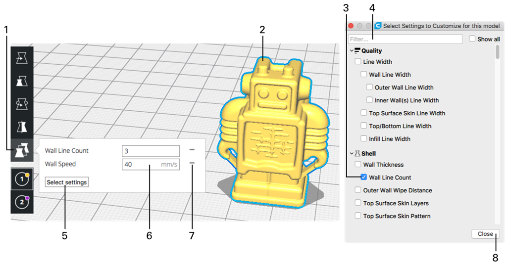 3D printing software] New Cura 3 0 operation teaching!