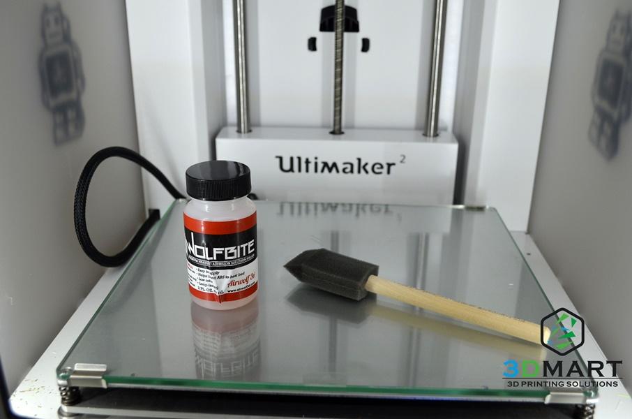 3D列印 翹曲解決  ultimaker Wolfbite1