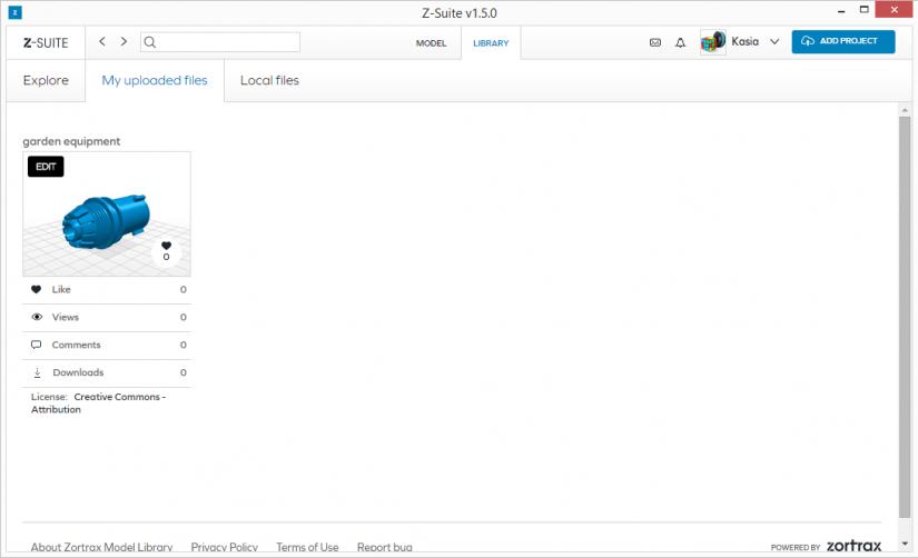 Zortrax M200  Z-Suite操作指南  z-suite 模型庫指南